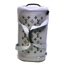 Louis Vuitton Horizon Soft 2r55 Carry Bag Luggage M20129 Knit Grey Used Lv