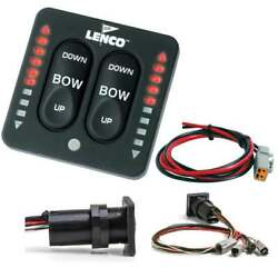Lenco Led Indicator Switch For Trim Tabs With A Single Actuator Mfg 15170-001