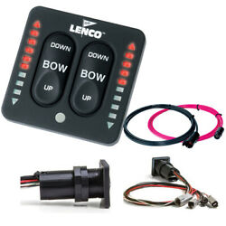 Lenco Led Indicator Switch For Trim Tabs With A Dual Actuator Mfg 15171-001