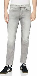 G-star Raw Menand039s 3301 Tapered-fit Jean In Kamden Grey