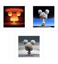 Jeff Gillette - Bombs - Set Of 3 Limited Print - Sold Out In Hand Ready Toship