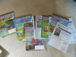 Vintage Lot Of 13 Farm Collector Magazines Complete Year 2017