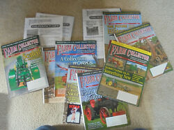 Vintage Lot Of 11 Farm Collector Magazines Complete Year 2015 And 2020