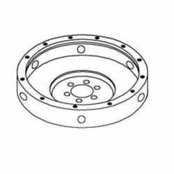 Flywheel Less Ring Gear Compatible With Massey Ferguson 2705 2675 Perkins