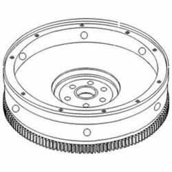 Flywheel With Ring Gear Compatible With Ford Tw25 Tw25 8630 Tw15 Tw15 Tw35 Tw35