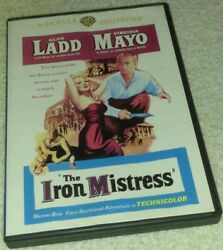 The Iron Mistress Dvd Archive Collection Rare