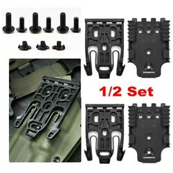 For Safariland Quick Locking System Kit With Qls 19 And Qls 22 Polymer 1/2 Set