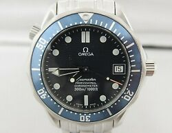 Omega Seamaster Professional 300 Automatic 2551.80 Navy Dial Stainless Steel Men