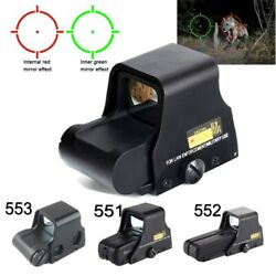 Tactical Red Green Dot Holographic Sight Scope 551/552/553 Replica Airsoft Scope