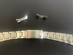 Rolex Steel Oyster Bracelet 7835 19mm With 257 End Links Clasp Code A 1976