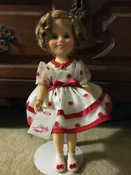 Shirley Temple Ideal Collectors Doll, Red Polka Dot Outfit 1982