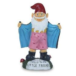 Garden Gnome Figurines Resin Funny Gnome Statues Indoor Outdoor Spring