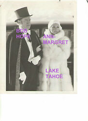 Ann Margret Sexy Stunning Rare Vintage Tv Wire Still Tahoe W/ Snipe And03977 Bob Hope