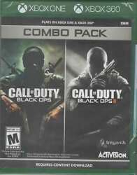 Call Of Duty Black Ops 1 And 2 Combo Pack X360/xbox One New Xbox One