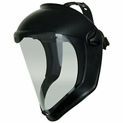 Uvex Bionic Face Shield With Clear Polycarbonate Visor Anti-fog/hard Coat S8510