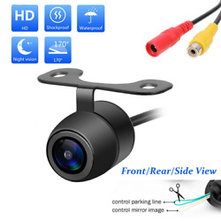 170andordm Cmos Car Rear/front/side View Reverse Backup Parking Camera Waterpry1d Hh