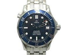 Omega Seamaster Professional 2551.80 Automatic Blue Dial Stainless Steel Men's