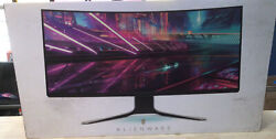 Alienware Aw3420dw 34 In Wqhd 120hz Curved Ultrawide Ips Gaming Monitor