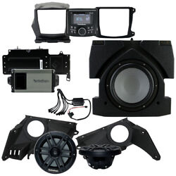 Rockford Fosgate X317-stg3 Stereo, Subwoofer And Front Speakers Can-am Maverick X3