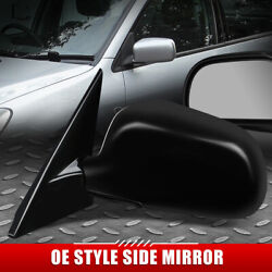 For 97-01 Mitsubishi Mirage Oe Style Manual Adjustment Driver Side Door Mirror