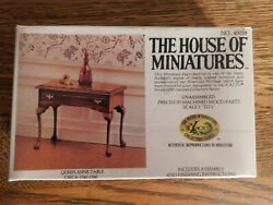 The House Of Miniatures Queen Anne Table 40038 Circa 1740-1760