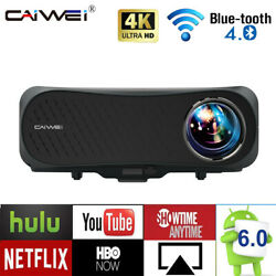 Led 8500lms 5g Wifi Android Projector Native 1080p Bt 4k Video Movie Lcd Hdmi2
