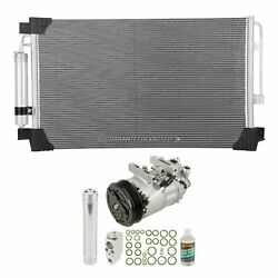 For Nissan Altima 2013 2014 2015 A/c Kit W/ Ac Compressor Condenser And Drier Dac