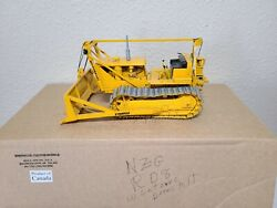 Cat Rd8 Dozer Letourneau Cable Blade And Winch - Sherwood Models 125 Scale New