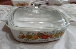 Vintage Corning Ware Spice Of Life L'echalote A-1-b