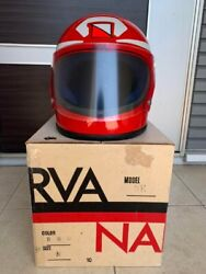 Narva Tribe Full Face Helmet From Japan Used One Red Very Good Condition