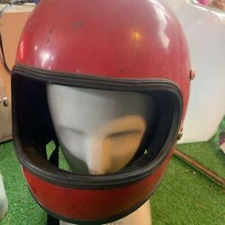 Kunoh Full Face Helmet Used From Japan Acceptable Condition Red