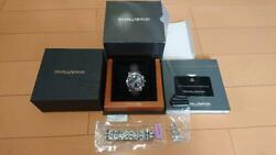 Baume And Mercier Capeland Moa08221 With 8223 Metal Band 19mm