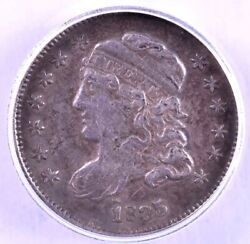 1835 Capped Bust Silver Half Dime - Anacs Vf35 Small Date Small 5c