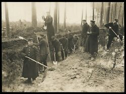 Wwi 1915 German Soldiers Trench Warfare Type 1 Original Photo Crystal Clear
