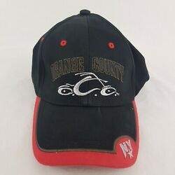 Orange County Choppers One Fit Stretch Black Red Hat - H584