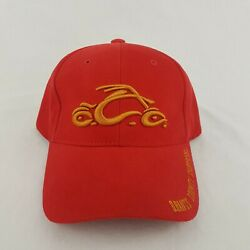 Orange County Choppers One Fit Stretch Red Hat - H585