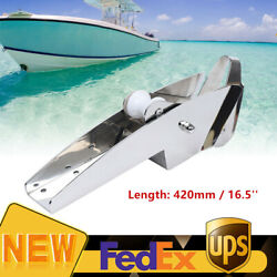 Stainless Steel Hinged Marine Yacht Docking Anchor Roller Self-launching Bow New