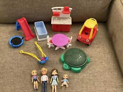 Little Tikes Place Doll House Accessories Furniture Family Preowned Only