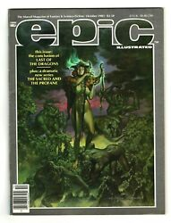 Oct. 1983 Epic Illustrated Andndash Marvel Magazine Of Fantasy And Science Fiction A139