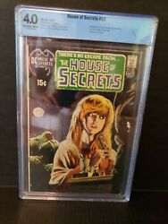 House Of Secrets 92 Cbcs 4.0 1st Swamp Thing Not Cgc