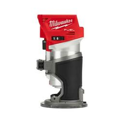 Milwaukee Wood Routers M18 Fuel 18-volt Lithium-ion Cordless Tool-only