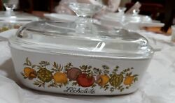Vintage Corning Ware Spice Of Life Le Echalote A-1-b