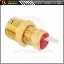 185 Degree Electric Radiator Thermostat Temperature Switch New For Cooling Fan