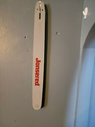 Jonsered Chainsaw 24 Oem Guide Bar D009 Mount 3/8 .050 New Old Stock