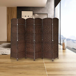 Folding Room Dividers 6 Panels Privacy Screens Home Office School Decor Dividers