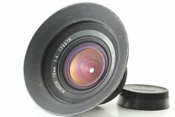 Exc+5 Nikon Nikkor 18mm F4 Ai Ultra Wide Angle Manual Mf Lens From Japan
