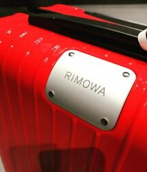 Porsche Xgenuine Rimowa Suitcase Red 32l Pts Trolley Case Ultralight M Carry-on