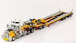 Kenworth T909 W/ Drake 4x8 Swingwing Trailer - Andyand039s - 150 Scale Zt09044 New