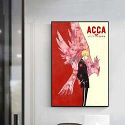 Acca 13-territory Inspection Dept Anime Classic Movie Artposter Unframe