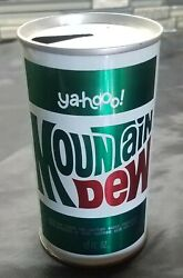 Vintage Mountain Dew Yahoo Can Very Good Condition